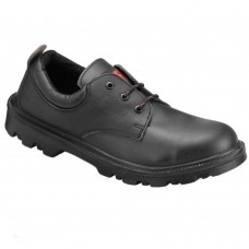 Wide Fit PSF Strata 524SM Black Water Resistant Safety Shoe Steel Midsole