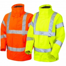 Ladies High Visibility Class 3 and Railspec Breathable Coat