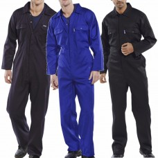 Regular Budget Poly/Cotton WorkWear BoilerSuit 3 colours