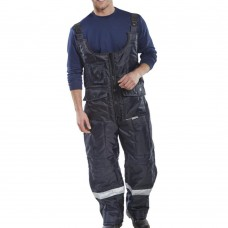 Click Freezer 'Coldstar' 3M Thinsulate Lined Zipped Bib Trousers EN342