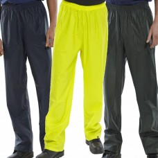 EN343 Class 3 WaterProof PU Coated Rain Trousers BDri