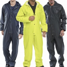 EN343 Class 3 WaterProof PU Coated Rain Coverall BDri