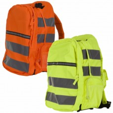 Hi Visibility Orange/Saturn Yellow Multipocket Rucksack