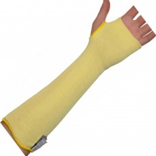"14"" DuPont™ Kevlar® Double Knit Cut and Heat Protection Sleeve with Thumb Slot (each)"