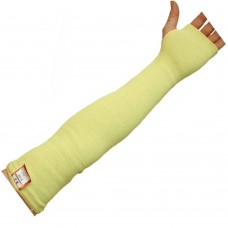 "22"" DuPont™Kevlar® Double Knit Cut and Heat Protection Safety Sleeve with Thumb Slot"