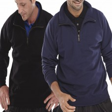 Click Quarter Zip Sweatshirt