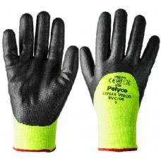 BM Polyco Reflex® Visco -20ºC 3/4 Nitrile Coated Hi Vis Thermal Lined Gloves
