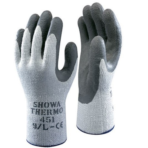 Cold Weather Therm N Grip Thermal GRIP Work GLOVES Cold Store Freezer EN388