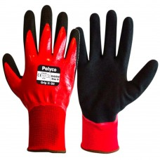 'Grip It Oil' Double Fully Coated Nitrile Oil Operations Glove