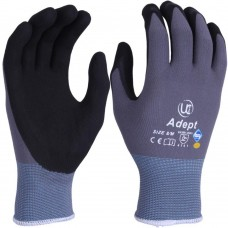 Adept® Nylon and Lycra Blend with NFT® Coating Sanitized® Gloves