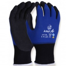 Lightweight NFT® Nitrile Palm Coating Sanitized® Grip & Abrasion Resistant Adept Work Gloves