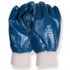 Heavy Duty Nitrile Full Dip Knit Wrist Glove Actifresh Liner