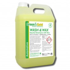 WASH & WAX Polymeric Wax Car Shampoo 5L