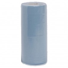 "Hygiene Roll Blue x12 20"" 2 Ply 40M Long 500mm Wide"