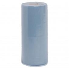 """Hygiene Roll Blue x12 20"""" 2 Ply 40M Long 500mm Wide"""