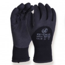 Icetherm BLK Foam PVC Knuckle Coated Cold Handling Gloves