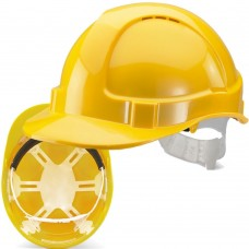 Vented 6 Point Plastic Harness Safety Helmet Hard Hat