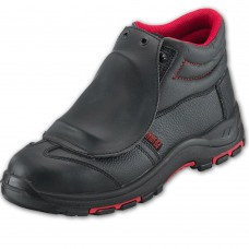 Metatarsal Protection Black Safety Boot Steel with Midsole
