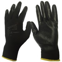 Nitrile Palm Coated Eco NitroTouch Polyester Work Glove