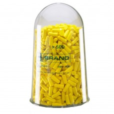 B Brand Ear Plug Refill Bottle 500 (to include 500 earplugs) SNR 34dB