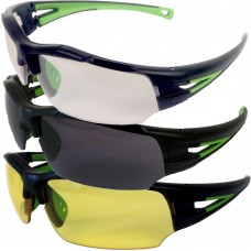 Sports Style Sidra Safety Glasses available in 5 Lens Options