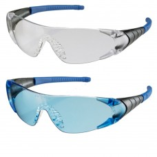 Verona Lightweight Frameless Design Protective Eyewear - Blue or Clear