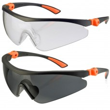 Click Traders Roma Anti-Fog Wraparound Adjustable Safety Eyewear
