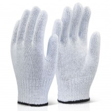White Mixed Fibre Glove Lightweight