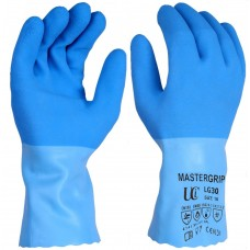 "Food Safe, Chemical & 100ºC Heat Resistant Latex 12"" Gauntlets"