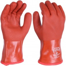 Double Dipped Soft PVC Cold and Chemical Resistant Trawlerman Gauntlet 12""