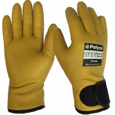 Nitrile Foam Lorry Drivers Lined Gloves Cold Tested to -10ºC & Heat Resistant Imola by Polyco