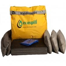 50 Litre Maintenance Spill Response Ecospill Kit in Vinyl Holdall