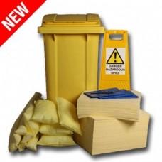 240L Chemical Spill Response Kit Circular PE Bin
