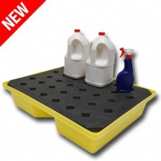 40L Ecospill Recycled PE Spill Tray with Grate