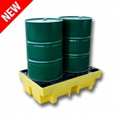 Ecospill Spill Pallet for 2 x 205 Litre Drum