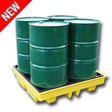 Ecospill Spill Pallet for 4 x 205L Litre Drum