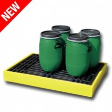 Ecospill Spill Low Storage for 2 x 205L Drum