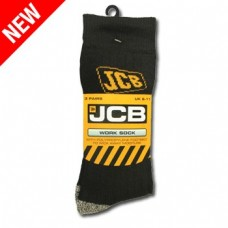 JCB 3 Pack Sandon Socks Black