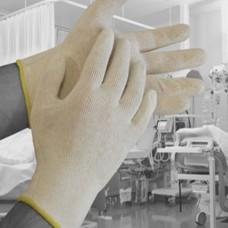 DERA Dermatology non-sterile, absorbent, cotton glove