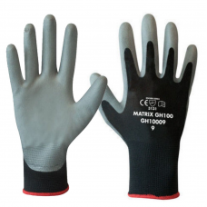 Polyco Matrix® GH100 Polyurethane PU Palm Coated on Seamless Fibre Gloves