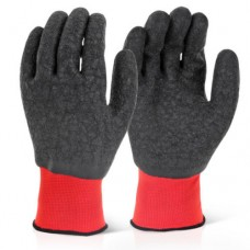 Click 2000 Fully Coated Grippy Latex Rubber Coated Wet Work Gloves