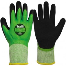 Traffi Safe to Go Wet & Cold Cut Level F Safety Gloves