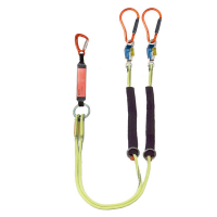 ELITE twin lanyard clip back for overhead lines 1.70m – Steplock™