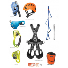 heightec® High specification industrial rope access kit with innovative new rope devices