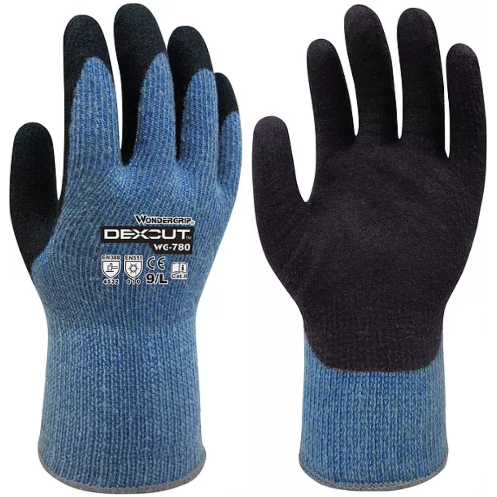 DEXCUT COLD {-20°C} /& CUT RESISTANT GLOVES  EN388 CUT RESISTANT LEVEL 5